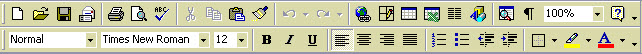 Office 2000 Toolbars